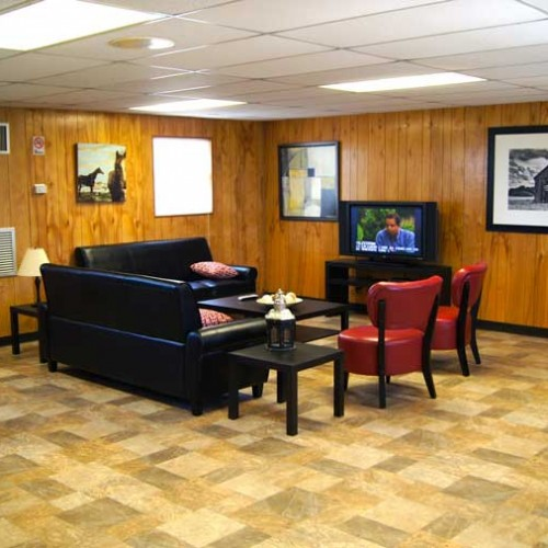 RV Park Pleasanton Texas Clubhouse Interior