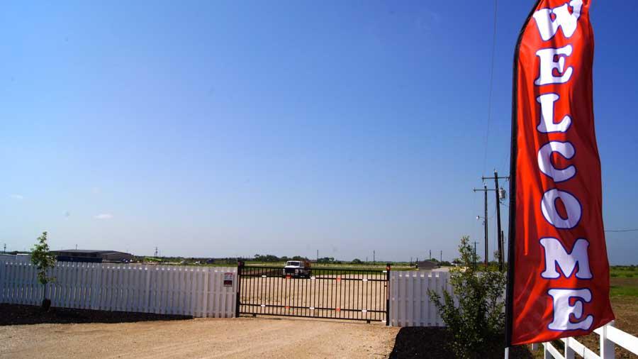 RV Park Pleasanton Texas Security Code Gate