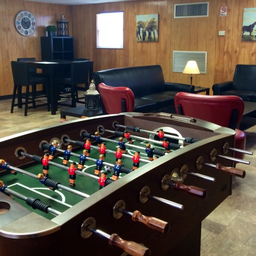 Club House Mini Soccer and Recreational Area